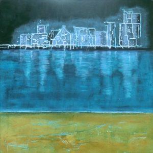 Abu Dhabi Acryl Andrea Wildhagen