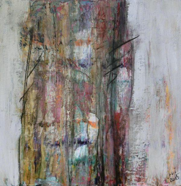Der uralte Baum Acryl Andrea Wildhagen