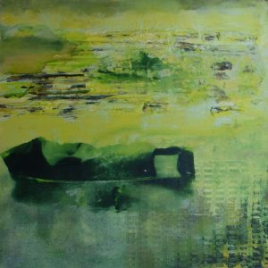 Die Insel Acryl Andrea Wildhagen