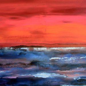 Leben am Meer Acryl Andrea Wildhagen
