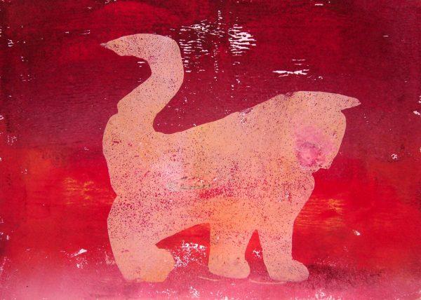 Annabell geht spazieren 1 - Druck von Andrea Wildhagen 2011