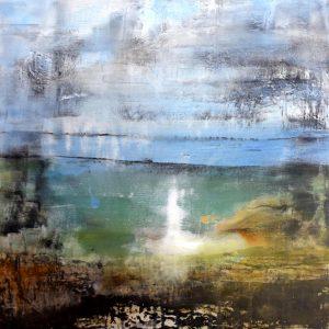Magische Stimmung - Gemälde von Andrea Wildhagen 2017